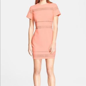 Elizabeth and James Ari Neon Cutout fitted Dress